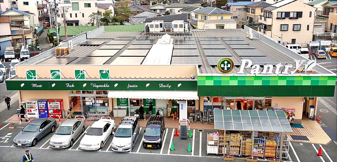 小田原百貨店 板橋店太陽光発電所